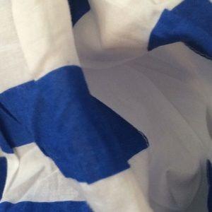 Mini Boden Bottoms - Mini Boden Blue & White Stripe Skirt